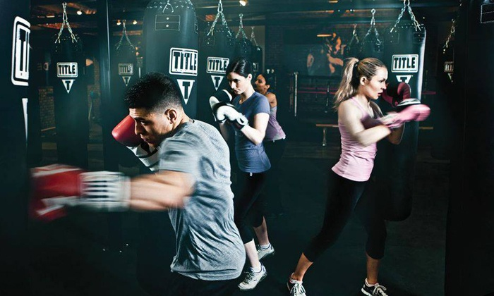 TITLE Boxing Club - Plano - Plano: $39 for 2 Weeks Unlimited Boxing and Kickboxing Classes with Hand Wraps at TITLE Boxing Club ($45.49 Value)