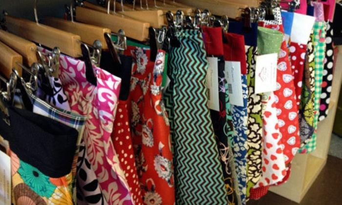 The Hanger - Cherokee Seneca: $14 for $25 Worth of Handmade Women's Clothing at The Hanger