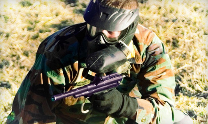 Austin Paintball - Dripping Springs-Wimberley: Paintball Packages for Two or Four at Austin Paintball (Up to 54% Off)