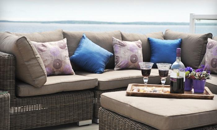 Wicker Emporium - Multiple Locations: $25 for $50 Worth of Home Decor at Wicker Emporium