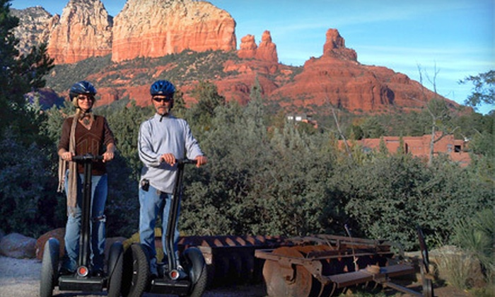 Adventures Out West - Sedona: Desert Segway Tour for One or Two from Adventures Out West in Sedona (Up to 54% Off)