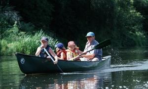 Lippe Kanu Touren: 2 Std. Canadier-Tour für 4 oder 8 Personen bei Lippe Kanu Touren (38% sparen*)