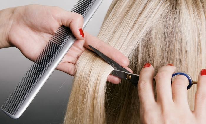 Marie Mcalpine at The Beauty Bar Salon - Riviera Springs: $35 for a Haircut and Conditioning Treatment from Marie Mcalpine at the Beauty Bar Salon ($65 Value)