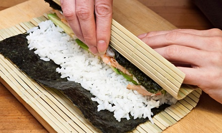 Up to 43% Off  Make Your Own All-You-Can-Eat Sushi Class at Sushi Factory - Melbourne
