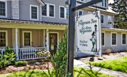 Groupon Deal: 1-Night Stay for Two in a King, Queen, or Two-Double Room at The Frogtown Inn in Canadensis, PA. Combine Up to 2 Nights.