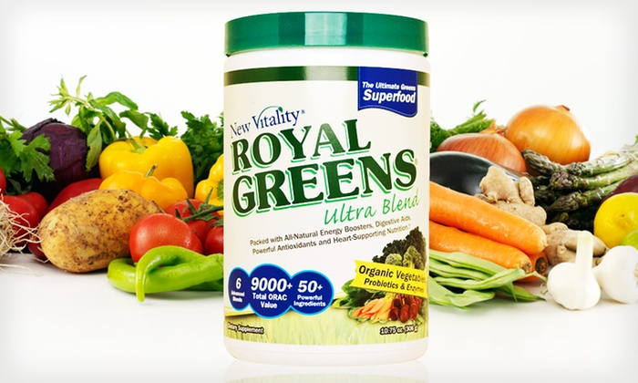 $22.99 for New Vitality Royal Greens. Free Shipping
