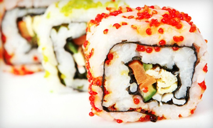 Lucky Sushi - South Huntington: Sushi at Lucky Sushi (Up to 52% Off). Two Options Available.
