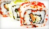 Up to 52% Off at Lucky Sushi