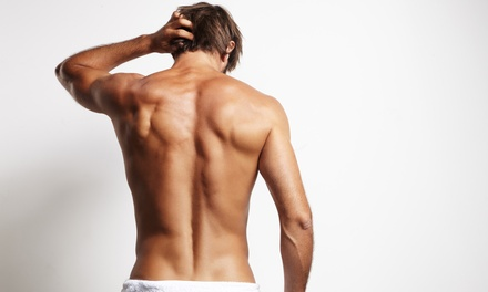 One or Three Men's Waxing Packages at All For Guys Salon (Up to 56% Off)