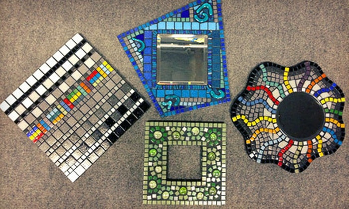 Madcap Mosaics - Clifton Heights: Intro to Mosaics Workshop with Take Home Mosaic for One or Two at Madcap Mosaics (Up to 57% Off)