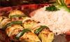 Up to 43% Off at Sahara Mediterranean Bar & Grill