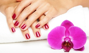 The Finished Look Salon & Spa: Classic Manicure or Classic Mani-Pedi at The Finished Look Salon & Spa (Up to 52% Off)