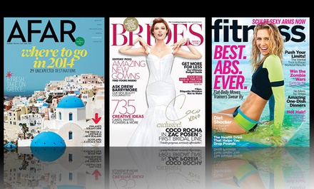 1- or 2-Year Subscription to Blue Dolphin Wedding-Themed Magazine. Multiple Titles Available from $5–$16.