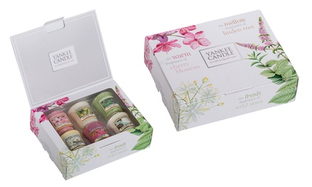 Yankee Candle Five- and Six-Piece Mother's Day Votive Gift Sets from £7.99 (Up to 38% Off)