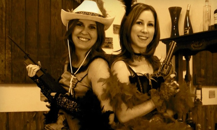 Old Time Photo Studio - Cave Creek: Wild West Photo Shoot for Two or Four at Old Time Photo Studio in Cave Creek (Up to 54% Off)