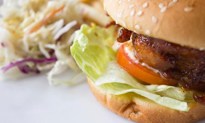 Mainstreet Bar & Grill - Minnetonka - Hopkins: Pub Food Meal for Two or Four at Mainstreet Bar & Grill (Up to 55% Off)
