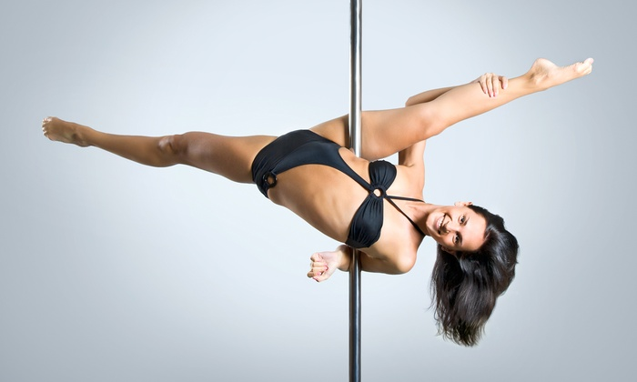 Flight Fitness Studio - Palatine: Intro to Pole-Dance for One or Two or Pole-Dance Party for 10 from Flight Fitness Studio (Up to 60% Off)
