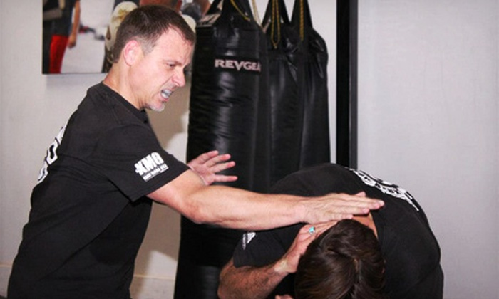 360 Fight Academy - Multiple Locations: 10 or 20 Kickboxing or Krav Maga Classes or One Year of Unlimited Kickboxing at 360 Krav Maga (Up to 83% Off)