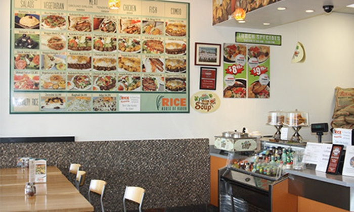 Rice House of Kabob - Kendale Lakes: $10 for $20 Worth of Persian Cuisine at Rice House of Kabob