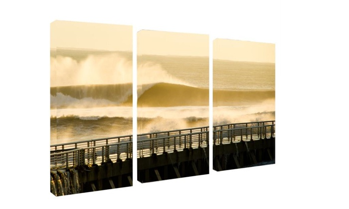 ready2hangart.com - Emerald Dunes: $99.99 for One Three-Piece Canvas Set from ready2hangart.com ($399.99 Value)