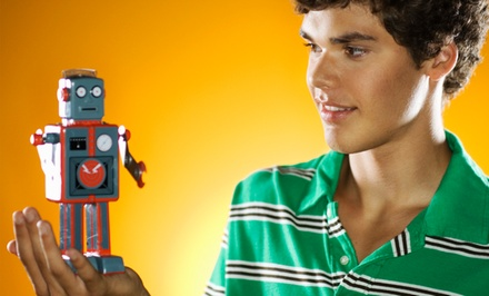 $149 for a Four-Week Kids' Introduction to Robotics Class with Beginner Kit at Robolink ($300 Value)