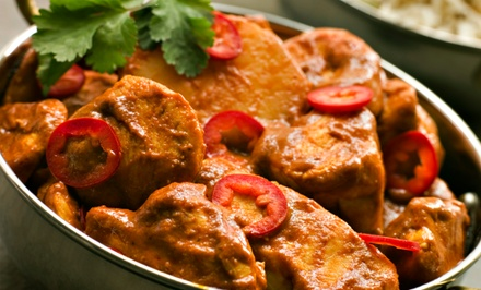 $11 for $20 Worth of Indian Cuisine at Bombay Grill Indian Restaurant
