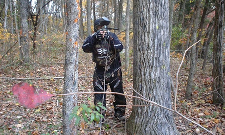 Paintball with Equipment Rental and 100 Paintballs for Two, Four, or Six at Conder's Paintball (Up to 51% Off)