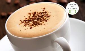 Grão Espresso - Shopping Frei Caneca: Grão Espresso - Shopping Frei Caneca: lanche com café, capuccino ou suco + opções com pão de queijo ou sandubinha e mais