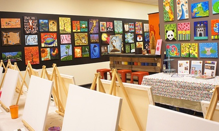 BYOB Painting Classes for One or Two Adults (Up to 57% Off)