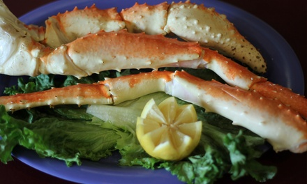 Surf and Turf Dinner or Seafood and Drinks at Chinn's 34th Street Fishery (40% Off). Three Options Available.