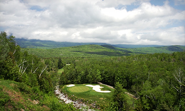 Sugarloaf Mountain Resort - Carrabassett Valley: $45 for an 18-Hole Round of Golf Including Cart Rental at Sugarloaf Mountain Resort ($89 Value)