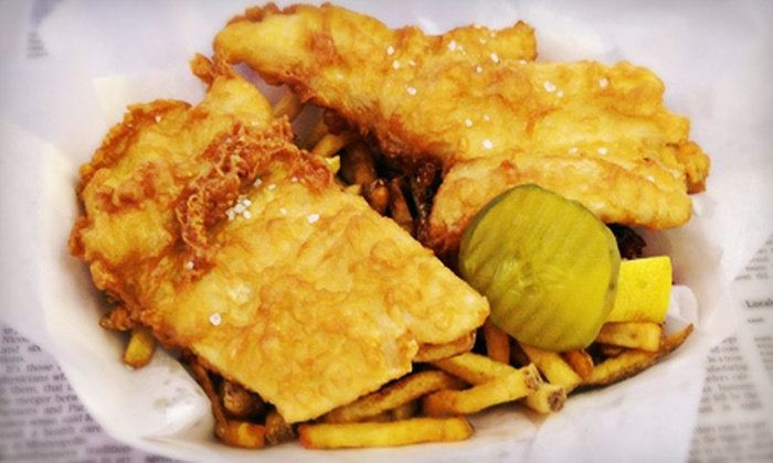 Mac's Fish & Chips - Como Park: $9 for Two Fried-Fish Value Baskets at Mac's Fish & Chips (Up to $17.98 Value)
