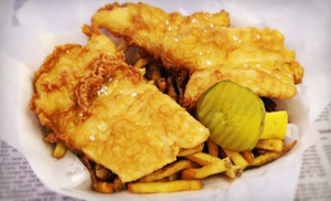 Mac's Fish & Chips: $9 for Two Fried-Fish Value Baskets at Mac's Fish & Chips (Up to $17.98 Value)