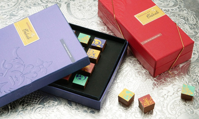 Chocolat Celeste - San Francisco: 16 Limited-Edition Pan-Asian Chocolates or 32 Truffles and Bonbons with Shipping from Chocolat Celeste (Up to 61% Off)