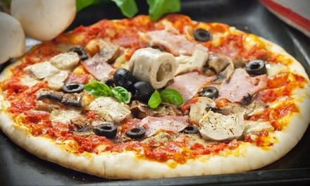 Tris di antipasti, pizze e birre a Bari Vecchia