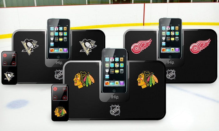 NHL iDock Speaker: $19.99 for an NHL iDock Stereo System ($39.95 List Price). Multiple Teams Available.