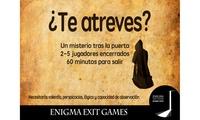 Experiencia de Escape Room hasta para cinco personas por 29,95 € en Enigma Exit Games