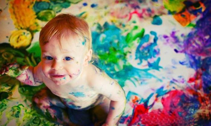 Art ala Carte - King: Three Kids' Art Studio Visits or a One-Year Membership for Three Kids at Art ala Carte (Up to 56% Off)