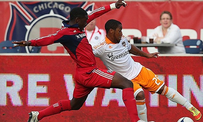 Chicago Fire - Toyota Park  : Chicago Fire Playoff Game Against Houston Dynamo at Toyota Park on October 31 at 8 p.m. (Up to 52% Off)