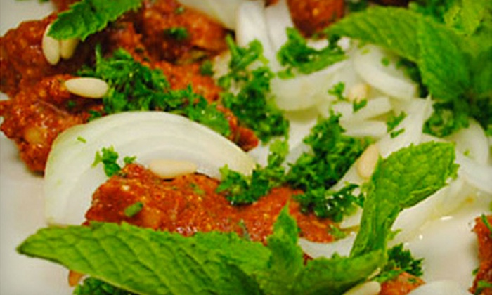 Le Chef Restaurant - Farmington Hills: Lebanese Meal with Appetizers and Drinks for Two or Four at Le Chef Restaurant (Up to 51% Off)