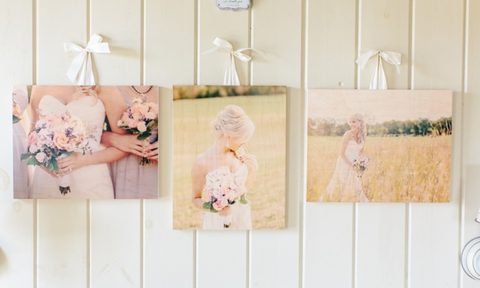 3 Custom Wood Photoboards from PhotoBarn: 3 Custom Wood Photoboards from PhotoBarn. Multiple Sizes Available from $39.99–$59.99.