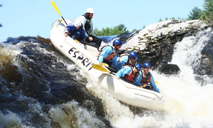 Esprit Rafting - Esprit: Two-Night Camping Trip for One or Two with Whitewater Rafting and Canoeing from Esprit Rafting (Up to 34% Off)