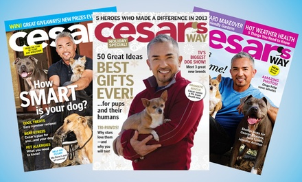 1- or 2-Year Cesar's Way Magazine Subscription. Multiple Options Available from $6–$10.