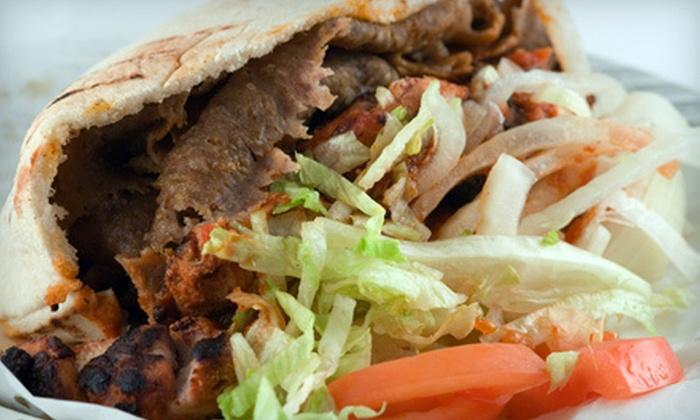 Athena Gyros - Laguna Hills: Greek Food for Two or Four at Athena Gyros (Half Off)