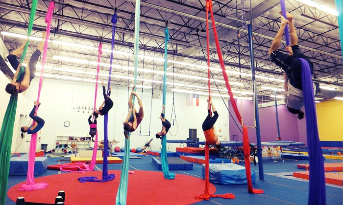 Lone Star Circus School - Addison: Two or Four Beginners' Circus Classes at Lone Star Circus School (Up to 39% Off)