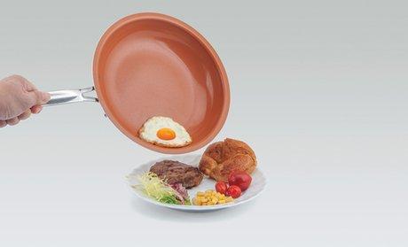 10″ Non-Stick Copper Pan