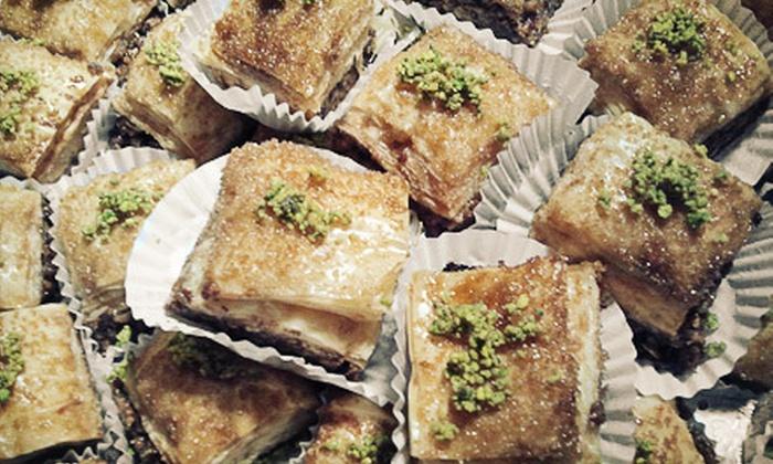 Al-Masri - Outer Richmond: $30 for an Assorted Baklava Gift Box from Al-Masri ($60 Value)