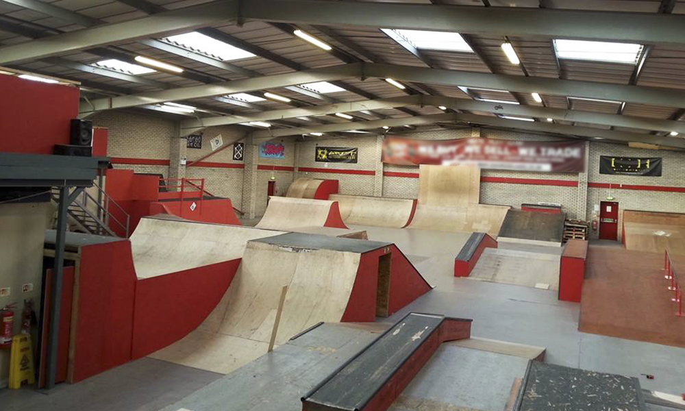 Override Skate Park Newcastle Deal Of The Day Groupon