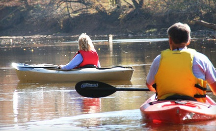 Full-Day Rental of One Tandem Kayak (a $65 value) - Paddle Creek in Frenchtown