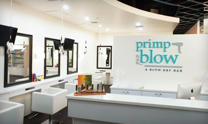 Primp and Blow: A Blowdry Bar - Multiple Locations: $22 for Blowout, Hair-Therapy Treatment, and Scalp Massage at Primp & Blow: A Blowdry Bar in Scottsdale ($50 Value)